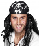 Piraten hoofdband voor volwassenen