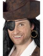 Oorbel en ooglapje voor een piraat