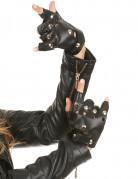 Vingerloze punk handschoenen