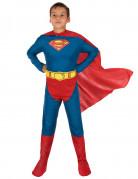 Superman™ onesie kostuum met cape voor jongens