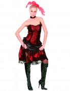 Cabaret saloon outfit voor vrouwen