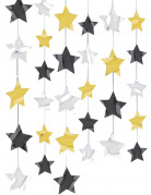 Set sterren decoraties