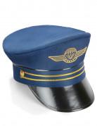 Blauwe kapitein pet voor volwassenen