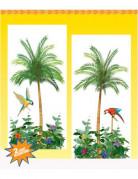 Palmboom muur decoratie