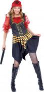 Superluxe piraten kostuum voor dames