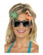 Hawaii zonnenbril voor volwassenen