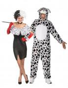 Cruella en dalmatiër kostuum voor koppels