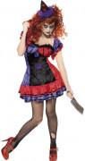 Kwade clown kostuum voor dames