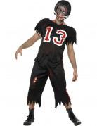 American football zombie kostuum voor heren Halloween pak