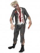 Schooljongen Zombie kostuum voor heren Halloween