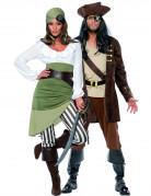 Duo piraten kostuum voor volwassenen