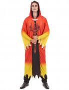 Rood-geel duivel kostuum voor heren Halloween