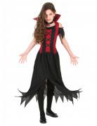 Zwart vampierskostuum voor meisjes