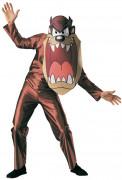 Klassiek bruin Taz™ kostuum voor volwassenen