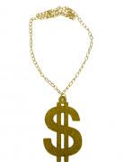 Goudkleurig dollar ketting