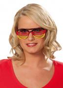 Duitsland supporter bril voor volwassenen