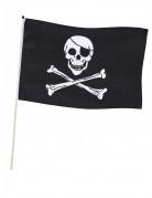 Klassieke zwarte piraten vlag
