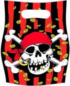 Set van piraten feestzakjes