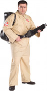 Beige Ghostbusters™ kostuum voor heren - Grote Maten