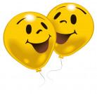 10 smiley ballonnen