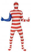 Amerikaanse Morphsuits™ kostuum voor volwassenen