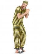 Gele gevangenisplunje voor mannen