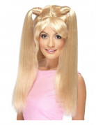 Blonde girlsband pruik voor vrouwen