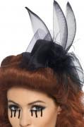 Mini-hoedje zwarte weduwe Halloween