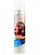 Zilverkleurige spray voor haar en lichaam