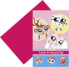 6 Pet Shop™-uitnodigingen
