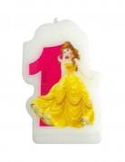 Disney Princesses Journey™-kaars in de vorm van cijfer 1
