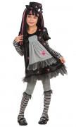 Black Dolly gothickostuum voor meisjes