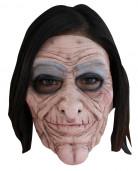 Masker van een oude vrouw voor volwassenen