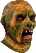 Groen mummiemasker voor volwassenen Halloween