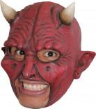 Demonmasker met hoorns voor volwassenen Halloween