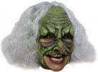 Groen heksenmasker voor volwassenen Halloween