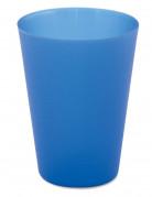 Set van 4 Beiersblauwe drinkbekers