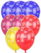 8 vuurwerkballonnen