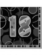 Servetten voor 18de verjaardagsfeest