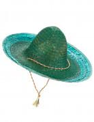 Groene Mexicaanse sombrero voor volwassenen