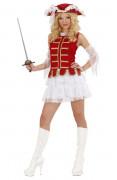 Sexy musketiers outfit voor vrouwen