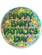 Happy Saint-Patrick's day badge met speld