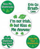 Grappige Saint-Patrick badges