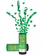 Groene confetti canon