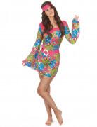 Hippie bloemen pak voor dames