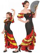 Flamenco danseressen kostuums Moeder en Dochter