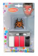 Spinnen schmink voor kinderen