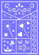 Feeën en prinsessen sjabloon