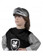 Zilverkleurige ridderhelm voor kinderen