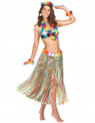 Lange kleurige hawaii rok voor dames